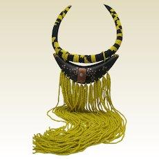 Beaded Maasai Wedding Necklace
