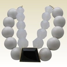 Chunky Lucite Necklace