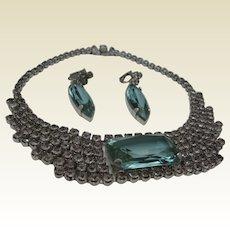 Alexandrite Necklace Earrings 1960