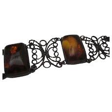 Baltic Amber Bracelet c1940
