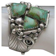Navajo Sterling Bracelet c1970