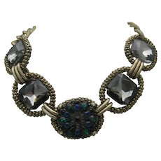 Glass Medieval Style Necklace