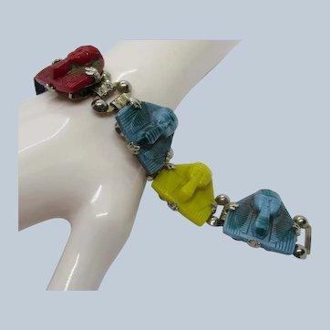 Egyptian Revival Pharaoh Bracelet