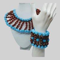 Julie Rubano Bib Necklace and Bracelet
