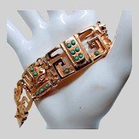 Egyptian Revival Style Bracelet
