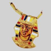 Egyptian Revival Pharaoh Pendant