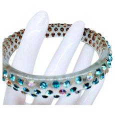 Czech Art Deco Rhinestone Bracelet