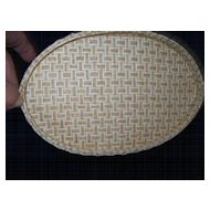 Vintage Straw Handbag **Elaine Turner Designs**