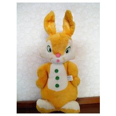 "Plush Easter Rabbit Knickerbocker 21 "" Doll"