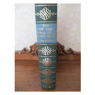 "New York Times Menu Cookbook  "" First Edition "" 1966"