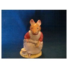 Royal Doulton  Brambly Hedge  Clover  Figurine