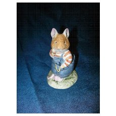 Royal Doulton  Brambly Hedge  Wilfred Toadflax  Figurine