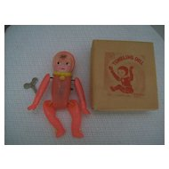 Occupied Japan  Celluloid Tumbling Doll MIB