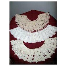 Crochet Collars  ( 3 )  In Box