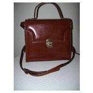 Leather Handbag/Shoulder Bag Christian Italy