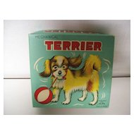 Toy Terrier / Box  Post - War Tin Toy