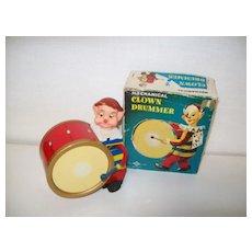 Tin Drummer /Box Post - War Toy Wind up