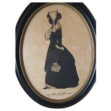 "Vintage Silhouette ""Martha Jefferson"""