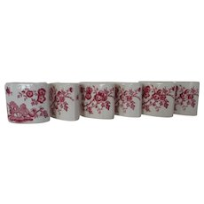 Mason's Toothpick Holders - Manchu Pattern (6)