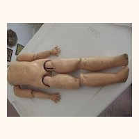 Ball Jointed Doll Body