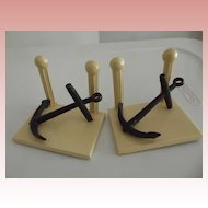 Anchor Bookends, Nautical Item