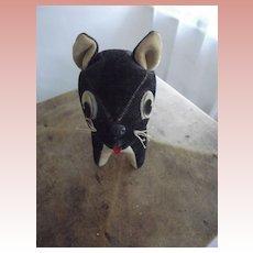Vintage Velvet Cat