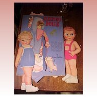 "Paper Dolls by Queen Holden ""Sleeping Dolls"""