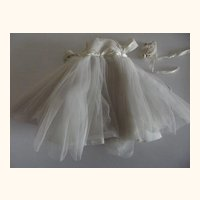 Madame Alexanderkins Bride Gown  1960's