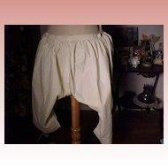 Victorian Split Crotch Pantaloons