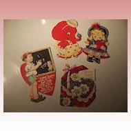 Four Vintage Valentines