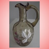 Pretty Hand Painted Pitcher/Vase
