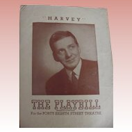 Playbills Harvey and Goodbye, My Fancy 1946, 1949