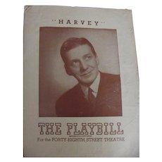 Playbills Harvey and Goodbye, My Fancy 1946, 1949