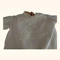 White Edwardian Baby Gown