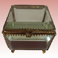 Beveled Glass Box