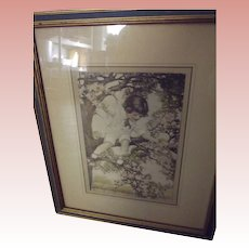 Pair of Children Prints Similar to Bessie Gutmann