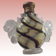 Fancy Smelling Salts Bottle or Vinaigrette