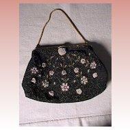 "Pretty Vintage ""DeLiLL"" Beaded Bag"