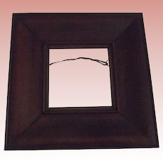 Small Thick Wood Frame