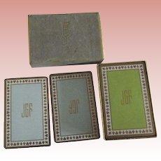 Vintage Tiffany Cards