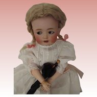 German JDK  Flirty Eyed Character Doll