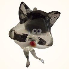 Blown Glass Cat