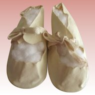 Doll Shoes, Large, White