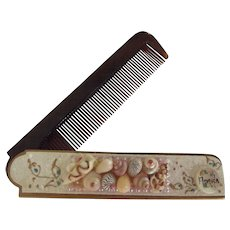 Souvenir Comb With Seashells