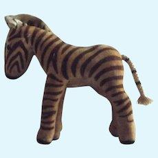 Steiff  Velvet Zebra