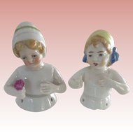 Pair of Pincushion Children