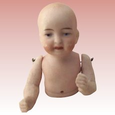 Bisque Pincushion Baby Jointed Arms