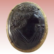 Victorian Mourning Cameo