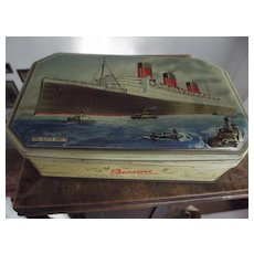Old Tin With Queen Mary