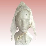 Early Lace Bonnet